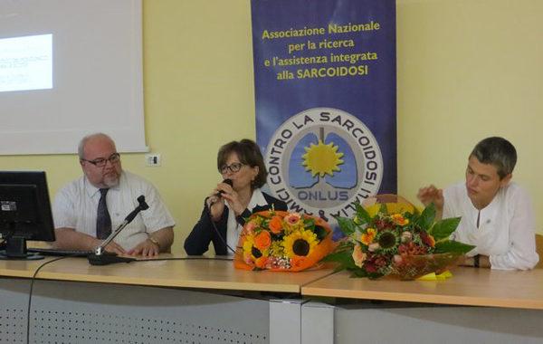 """Siena – Con ACSI ONLUS A """"Scuola Di Sarcoidosi"""" Dalla Prof.ssa Paola Rottoli"""