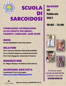 Scuola di Sarcoidosi Febbraio 2021
